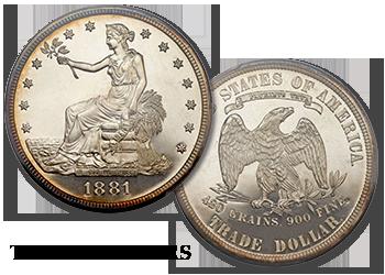 Trade Dollars - $1
