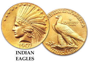 Indian Gold Eagles - $10 Gold Pieces