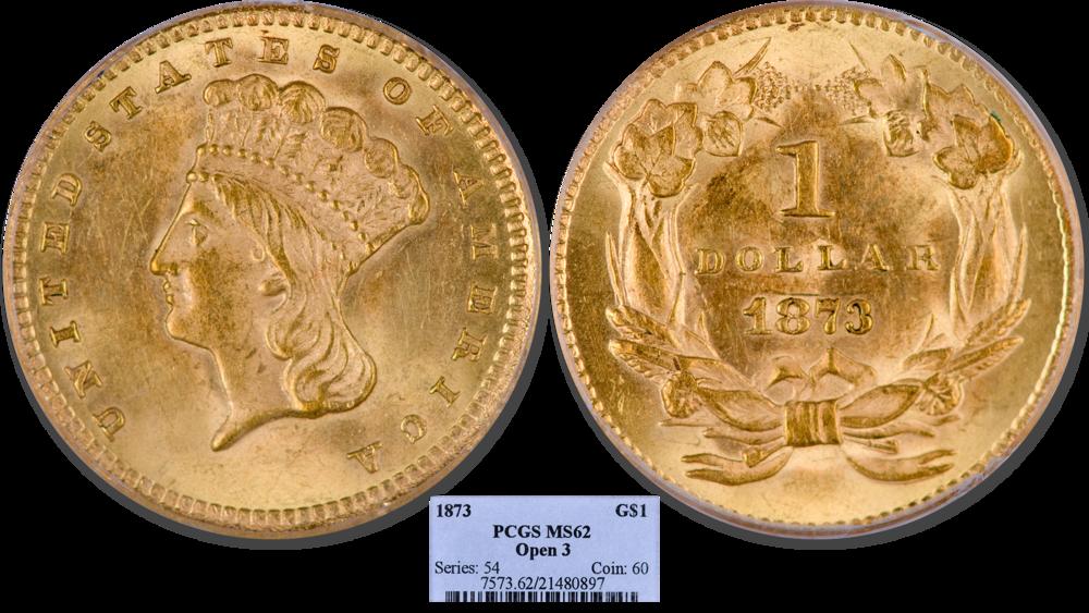 1878 Three Dollar Gold Piece Pcgs Au 58 Buy Amp Sell Gold