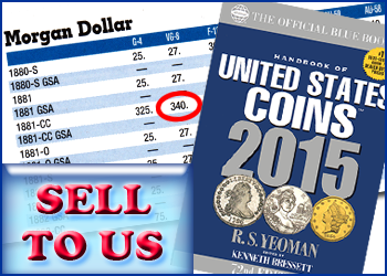 How to sell your rare coins, paper money, and gold and silver bullion at Southgate Coins in Reno