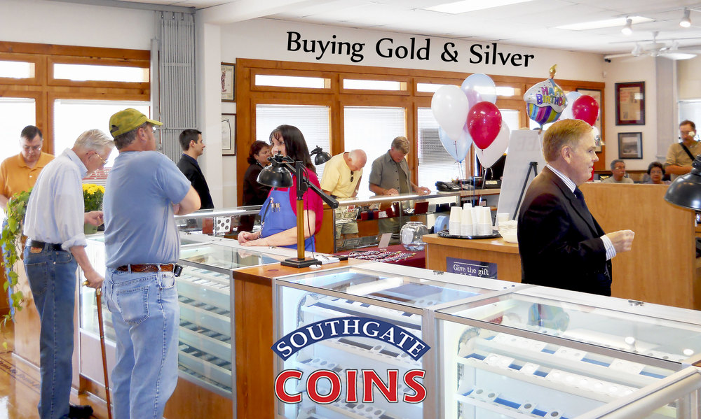 Southgate Coins Buys & Sells Gold & Silver Bullion in Reno, Nevada