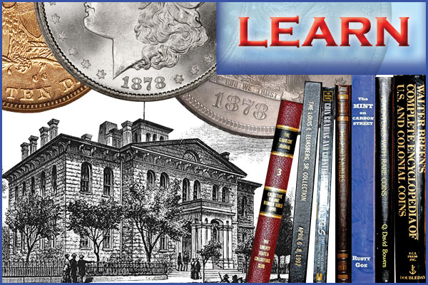 Learn about numismatic vocabulary, famous collectors and collections, and much more on Southgate Coins's website.
