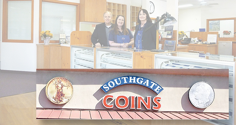 "Coin World posts ""Lost lease forces Southgate Coins to close Reno, Nev. storefront"""