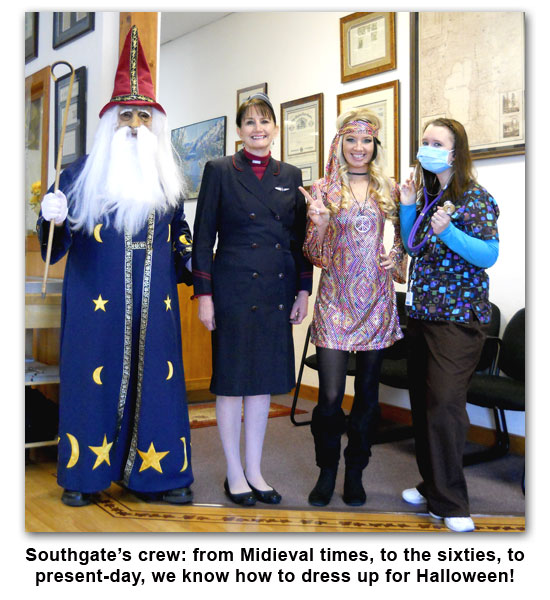 Southgate Coins staff participates in Halloween Dress Up 2011
