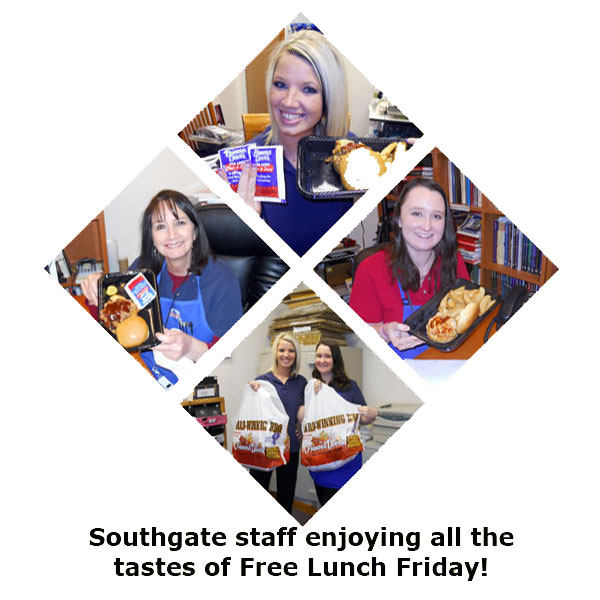Southgate Coins continues the tradition of Free Lunch Friday
