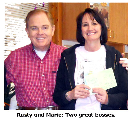 Southgate Coins owners, Rusty and Marie Goe