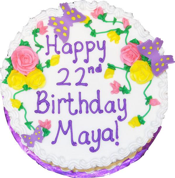 Maya Roberts celebrates her 22nd birthday at Southgate Coins