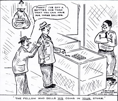 From  The Numismatist  - July 1945
