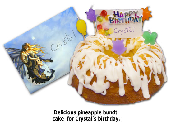 Crystal celebrates a celestial-themed birthday at Southgate Coins
