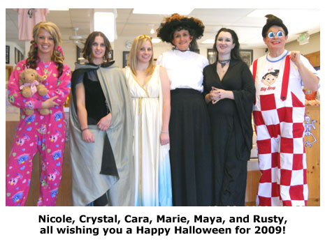 Southgate Coins owners and employees certainly know how to celebrate Halloween in style