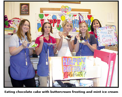 Southgate Coins staffers sure know how to celebrate birthdays