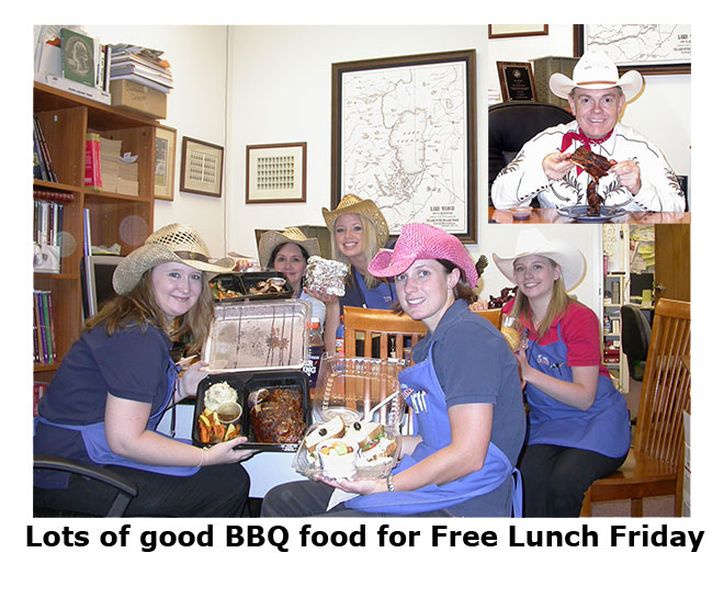 Southgate Coins celebrates Free Lunch Friday with BBQ during the Reno Rodeo