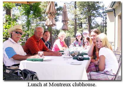 Southgate Coins staff and friends of the store dine at Montreux