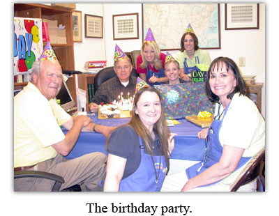 Southgate Coins honors owner Rusty Goe on his birthday