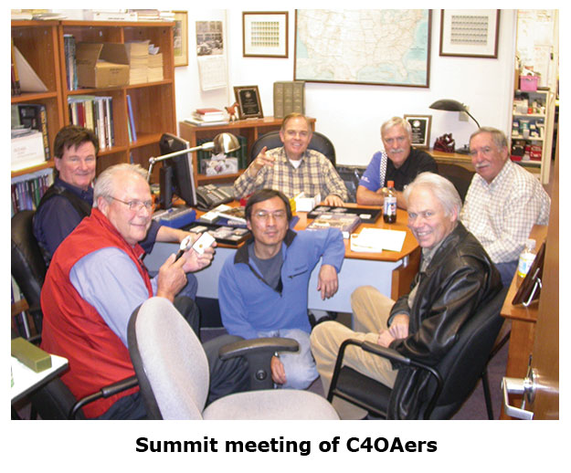 A Summit meeting for members of the Carson City Coin Collectors of America