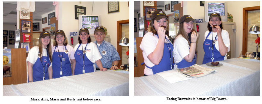 Southgate Coins employees prep for the Belmont Stakes