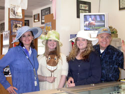 Everyone at the coin shop needs a hat for Kentucky Derby Day