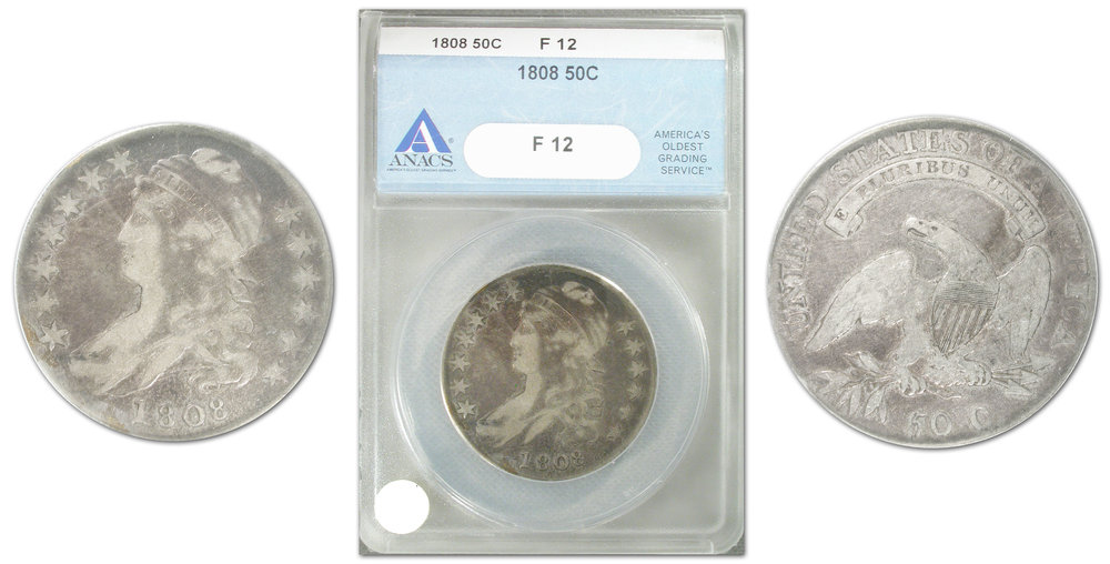 1808 half dollar offered in Southgate Coin's 200-year-old coin giveaway
