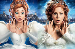 The princess from Enchanted