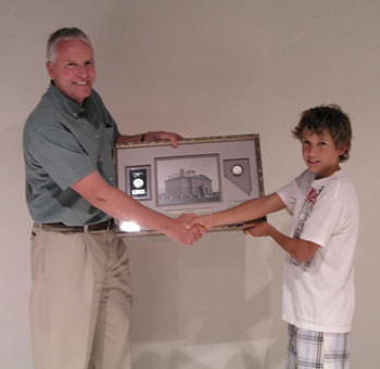 12-year-old boy wins grand prize donated by Southgate Coins at Carson City Coin Show