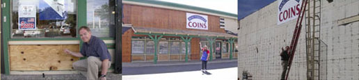 Renovations taking place at Southgate Coins