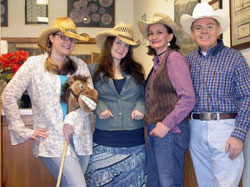 Southgate Coins staff dresses for the Reno Rodeo