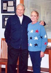 C4OA Treasurer Paul Sudmeier and his wife