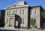 The Carson City Mint building that now houses the Nevada State Museum
