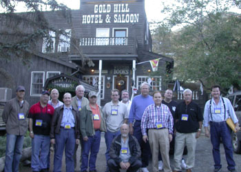 The gathering wrapped up at the Gold Hill Hotel & Saloon near Virginia City