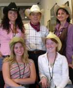 Southgate Coins staff dresses in Western wear for Reno Rodeo Days