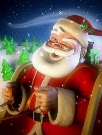 Santa Claus visits Southgate Coins