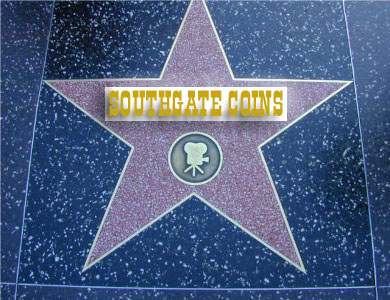 """Southgate Coins :star"""" on the Walk of Fame"""