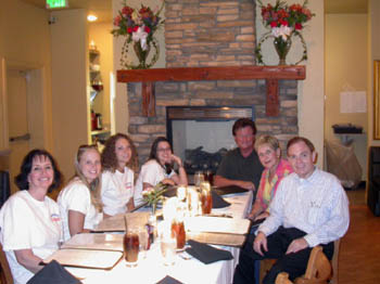 Southgate Coins employees and friends gather for dinner