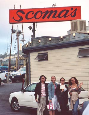 Southgate Coins staff visits famous Scoma's inSan Francisco