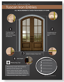 Arched Door Measuring