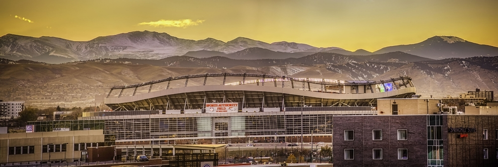 Sports Authority Field at Mile High.  Home of the Denver Broncos.