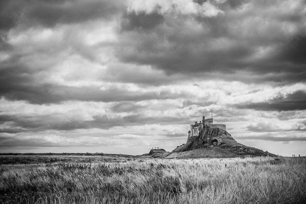 Lindisfarne Castle, Northumberland, UK