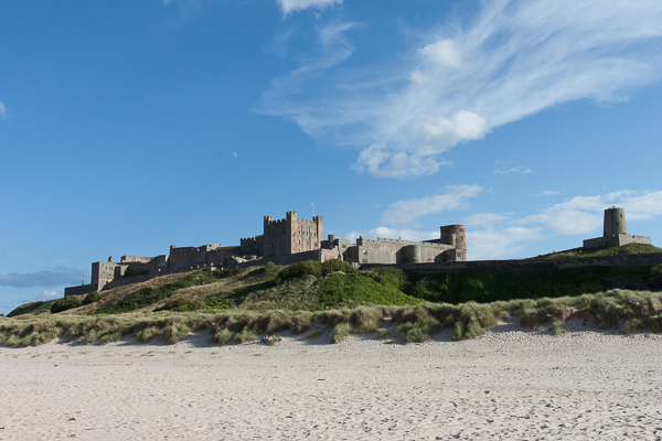 quick snap of Bamburgh Castle