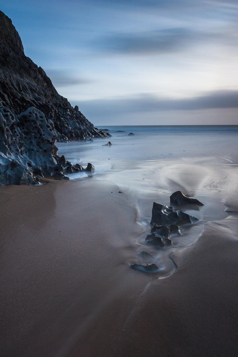 Mewslade Bay #1, January 2015
