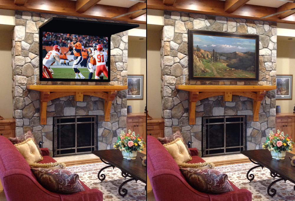 TV Cover Ups- Frame TV Mirror & Art Solutions TV Cover Ups