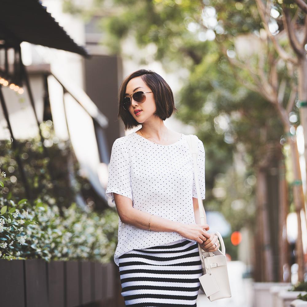 chriselle_lim_balenciaga_white_dotted_top_striped_skirt-1-2.jpg