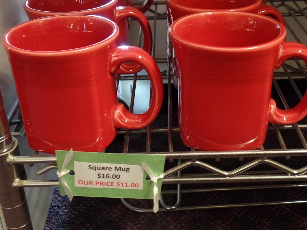 Fiestaware Square Mug & Fiestaware Square Mug \u2014 Dorothea\u0027s