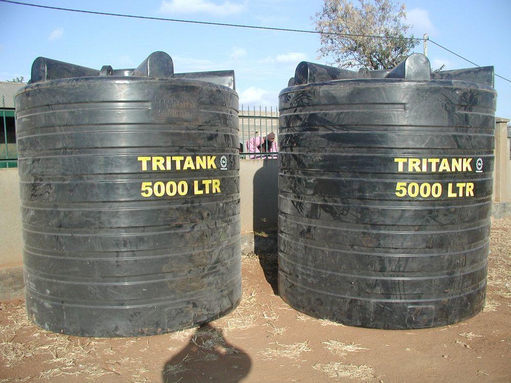 Tanks before installation