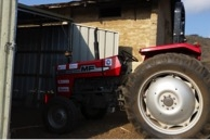 The tractor and its shed