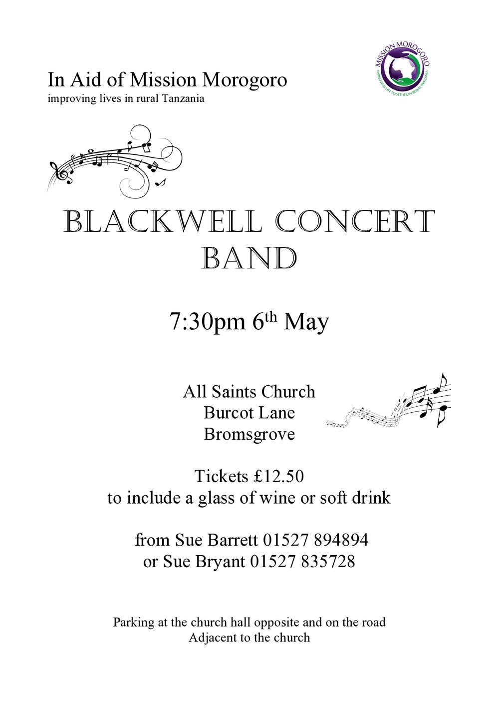 Blackwell Concert Band — MISSION MOROGORO