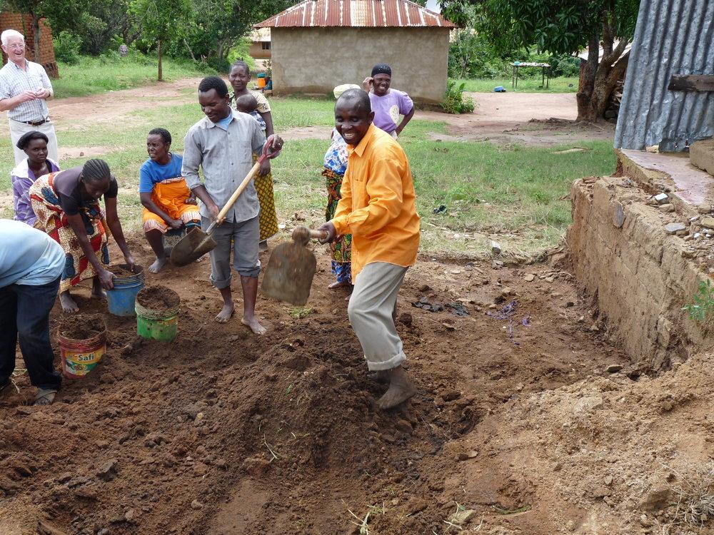 Rev Dyahila working hard