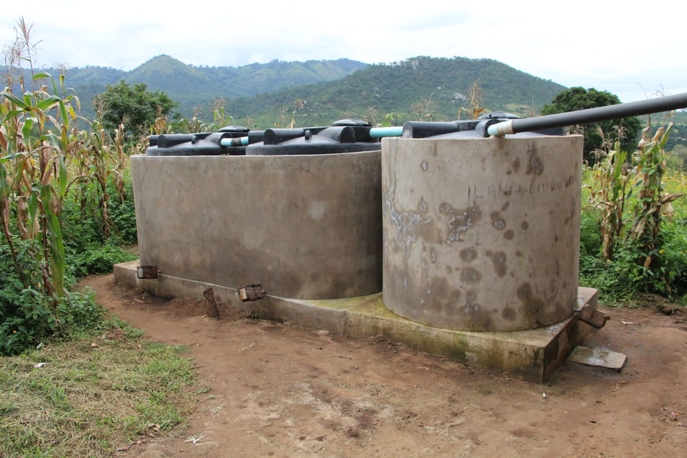 Health Centre - Rainwater Harvesting