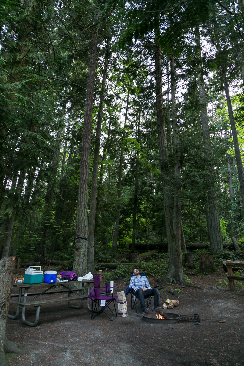 Sequim Park Forest Campground Exploration