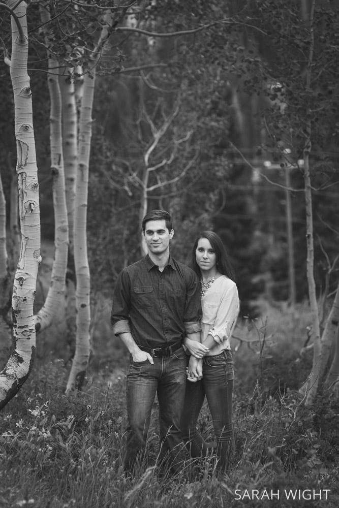 Hipster Natural Mountain Engagement Photos