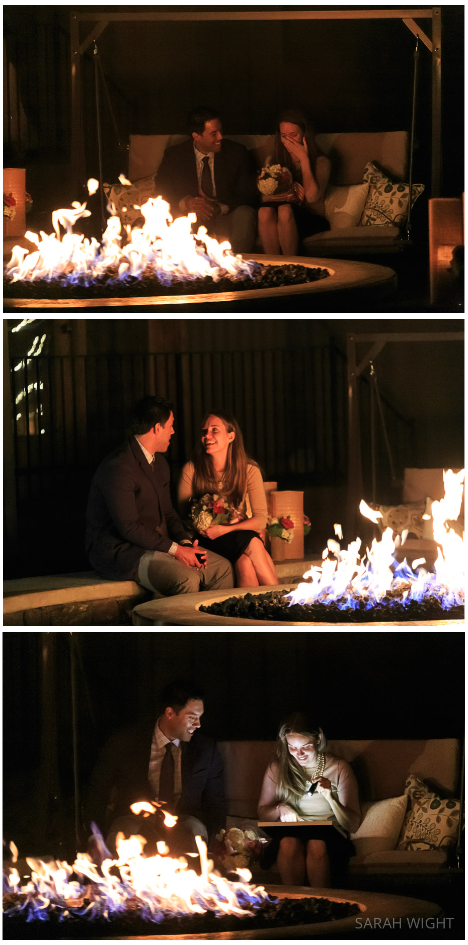 1 Utah Romantic Fire light Secret Proposal Photographer.jpg
